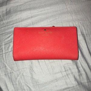 Kate Spade Wallet (Red)